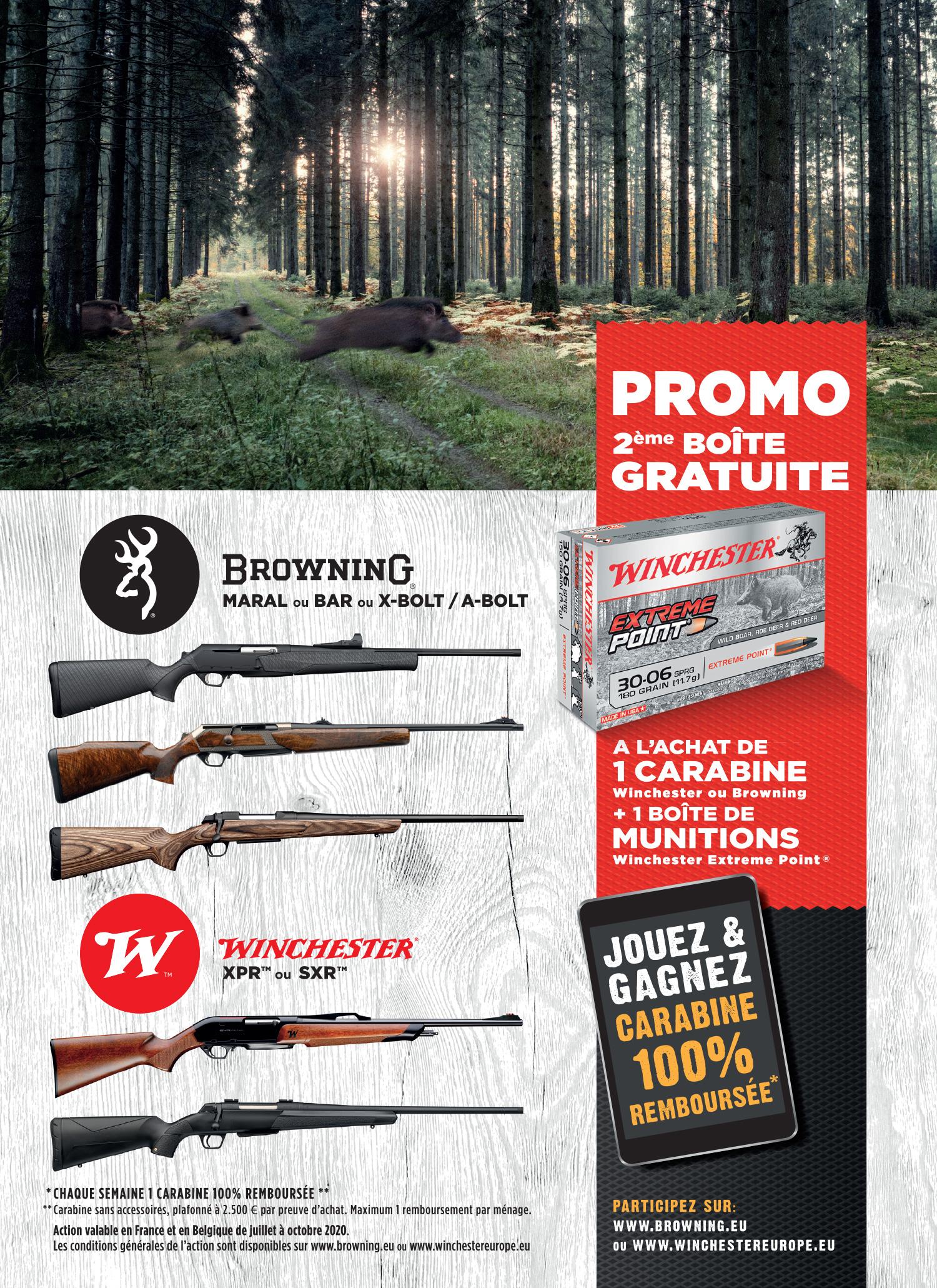 promotion 2ème boîte de munition gratuite